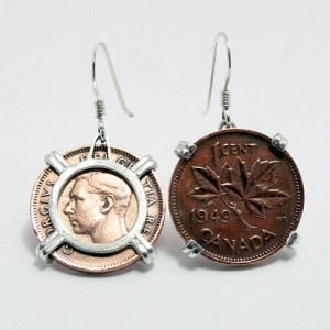 Coin Coin Earrings