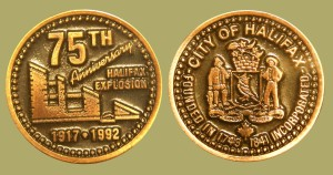 1992 Halifax Explosion Medal