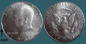 1966 US half cud